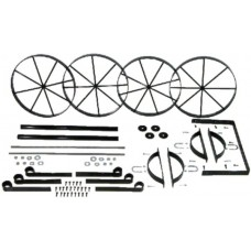 Mini Western Wagon Metal Kit