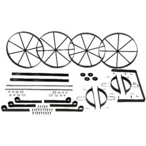 Mini Western Wagon Metal Kit