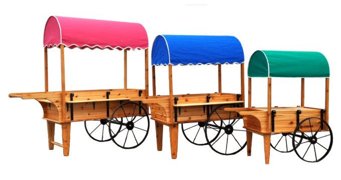 Peddlers Cart Sizes